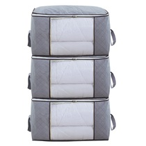 Clothes Storage Bag Quilt finishing bag household quilt bag put clothes packing moving bag oversized moisture-proof