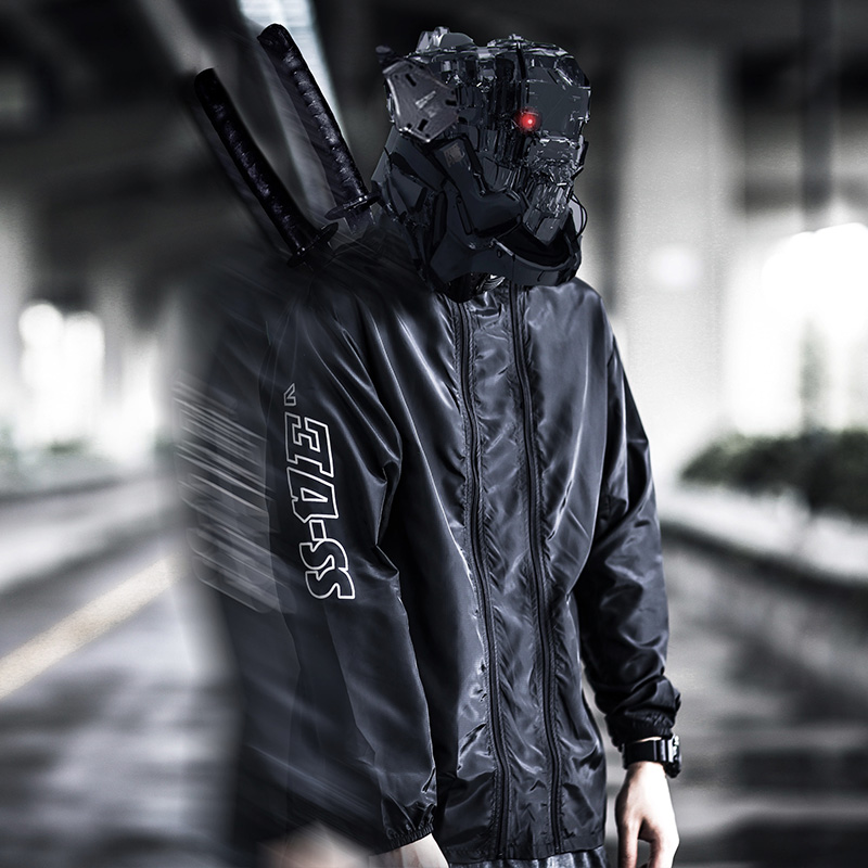 隐蔽者双拉链防晒防水防紫外线透气速干皮肤衣风衣潮牌ENSHADOWER