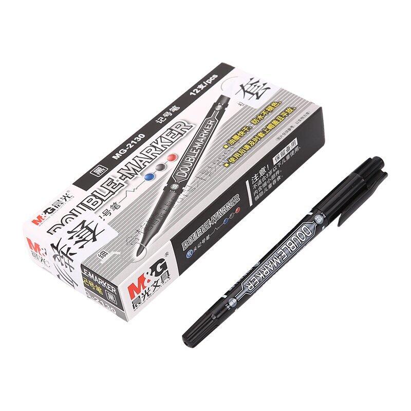 Бесплатная доставка утро канцтовары небольшой двухместный глава крюк линии ручка утро пометка карандаш вытирать не можете позволить себе масляный MG-2130