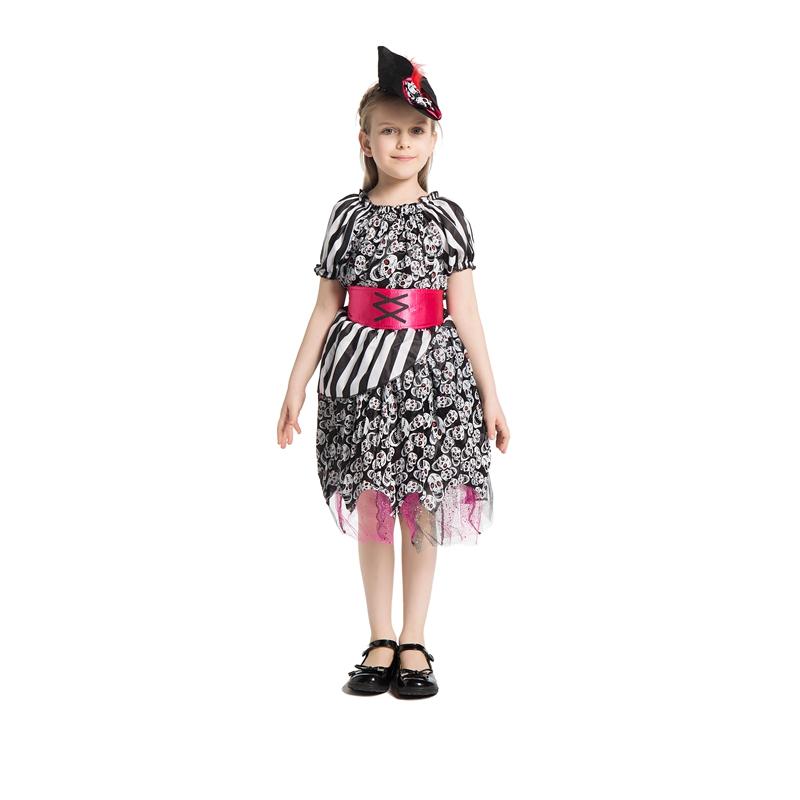 ゲームパーティのコスプレ衣装コスプレコスプレ子供服「スカル海賊」ハロウィン