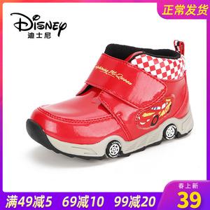 Disney/迪士尼冬季可爱宝宝 休闲骑车马丁靴运动休闲版舒适男童靴