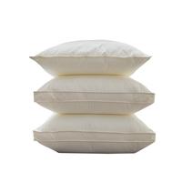 推荐!A类无荧光枕头  护颈中低高纯棉枕芯不塌陷不变形  一对拍2