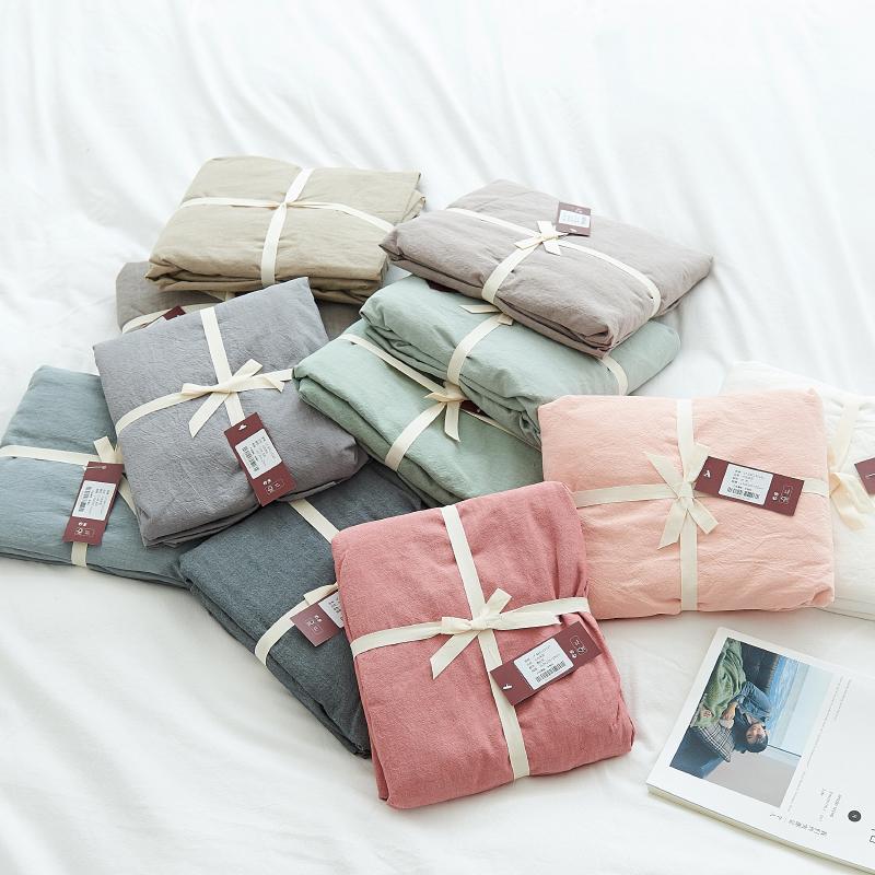 Мойка чистый хлопок цвет двухместный кровать предприятия один простой хлопок лист простой хлопок один сетка постельное покрывало один продукт