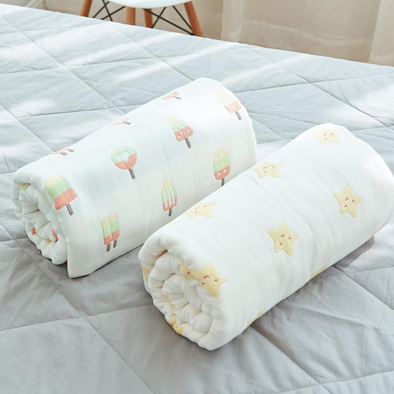 Выход шесть пряжа жаккард толстые карты через хлопок один полотенце находятся ребенок одеяло двойной кондиционер одеяло волосы одеяло