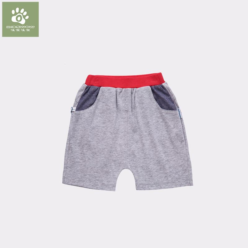 男童薄款寶寶兒童小童中褲
