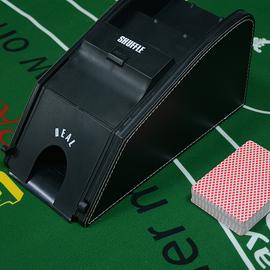 德州扑克发牌机1-8副百家乐21点黑杰克俱乐部透明发牌机器洗牌机图片