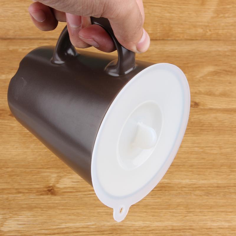 日本厨房保鲜盖杯盖硅胶大号密封防漏水杯盖子创意万能微波炉碗盖