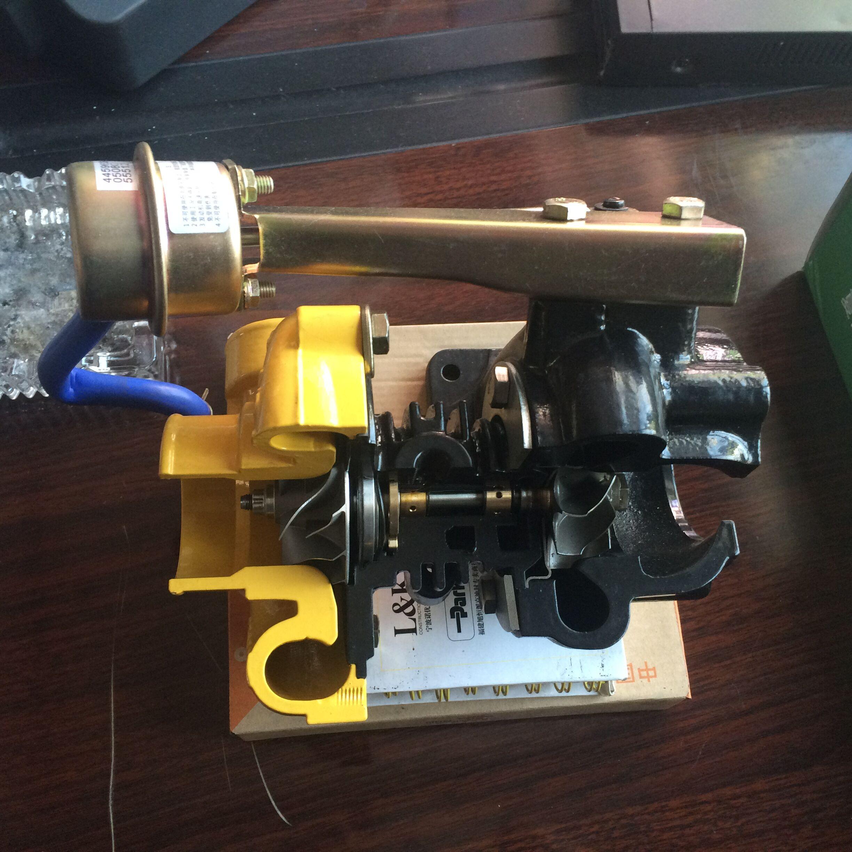 涡轮增压器实物演示可做教学模型