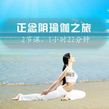 正念阴瑜伽之旅视频教程肾脏到膀胱经络能量流脊柱延展开髋练习