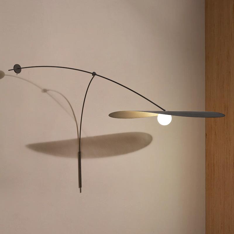北欧长臂壁灯创意复古客厅灯饰书房卧室床头阅读灯餐厅工业风墙灯