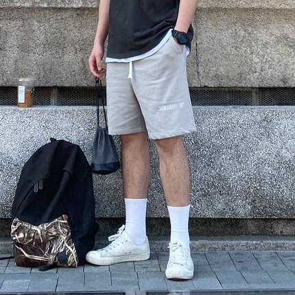 居家休闲全棉短裤男图片