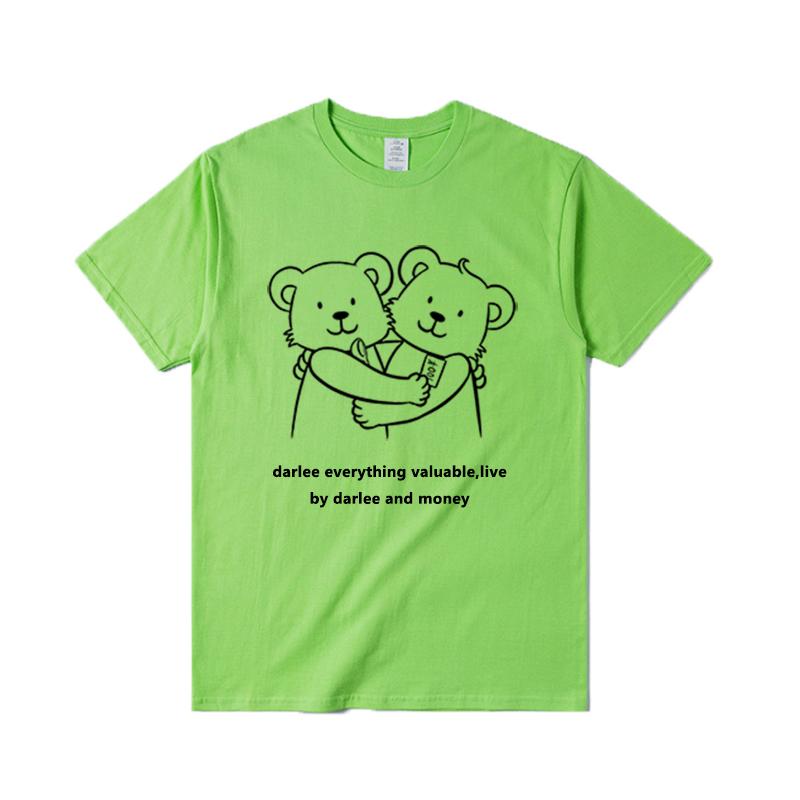 billkong韩版原创自制可爱友谊t恤