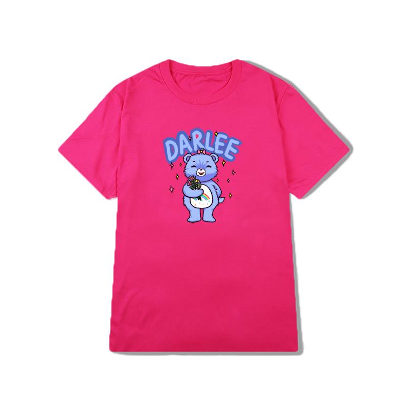 billkong韩国ins复古可爱童趣t恤