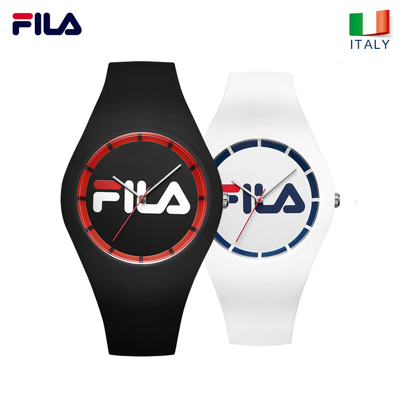 FILA watch mens watch womens watch lovers watch student watch silicone fashion watch sports watch 671