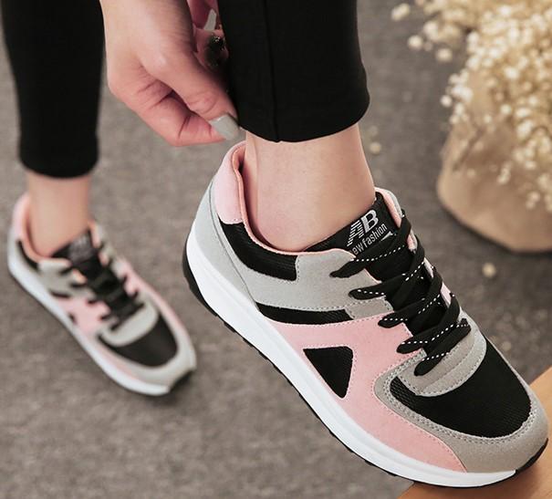 Минималистская мода повседневная обувь скольжения в воздухе весной и летом с толстым концом Форрест Гамп в Холст обувь спортивная