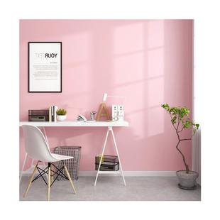 粉色牆紙卧室公主粉可愛少女心北歐ins風純色淺粉淡粉色背景壁紙