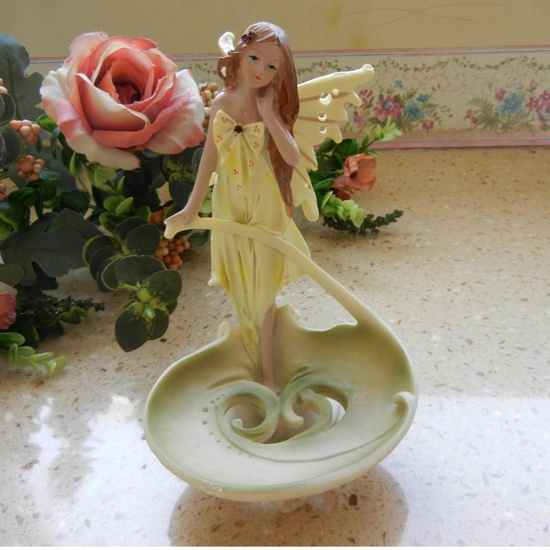欧式香皂盒架创意卫生间用品时尚少女心摆件肥皂盒皂托牙刷架