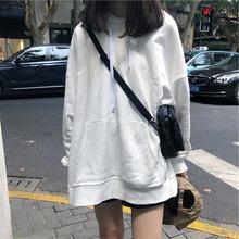 早期の春と秋の薄いセクションのセーター2019新しい女性の学生の韓国緩い野生のカシミヤのコートの女性が潮のシャツをインコートソリッドカラー怠惰な風パーカー