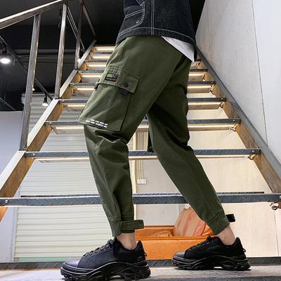 日系原创休闲工装裤宽松大码潮流新款春季 款号882 P55