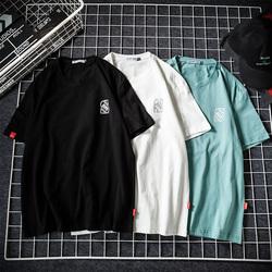大咖风夏季日系原创休闲印花短袖T恤圆领 款号T286 P30【控48】