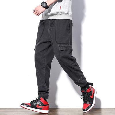 日系白墙风2019春季新款原创大码牛仔裤男士款号K576 P65【控88】