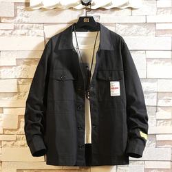 日系秋季砖墙大码潮流男士宽松休闲夹克 款号J356 P65【控88】