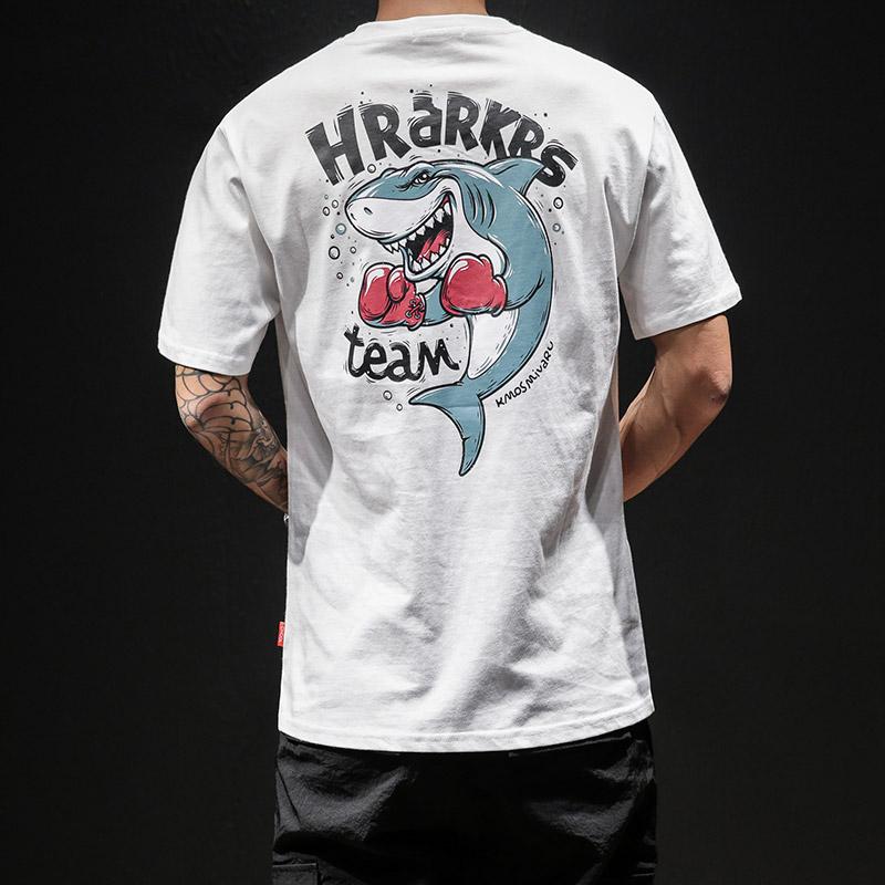 夏季新品男士印花短袖T恤 款号T169 P30