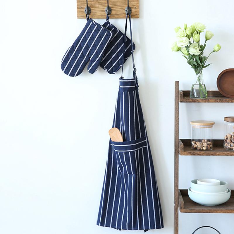日式和风布艺餐垫餐巾家用厨房围裙隔热垫锅垫隔热手套杯垫西餐垫