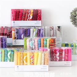 新品棉布头布块母婴布艺印花彩色小布块DIY手工布组合套装盒包邮