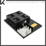 15600-08-21【FUSE BLOCK BLADE 30A PANEL MNT】