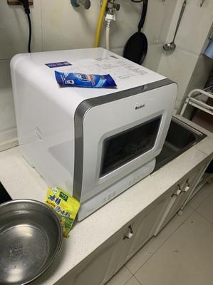 72度高温洗涤 360度全覆盖洗 Gree/格力台式全自动小型洗碗机