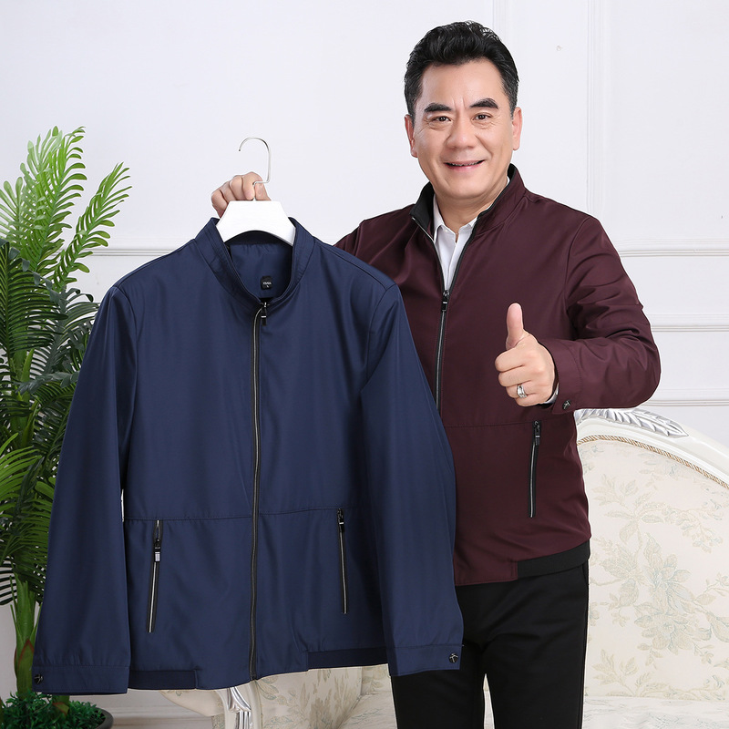 Perky kangaroo jacket for middle-aged and old men