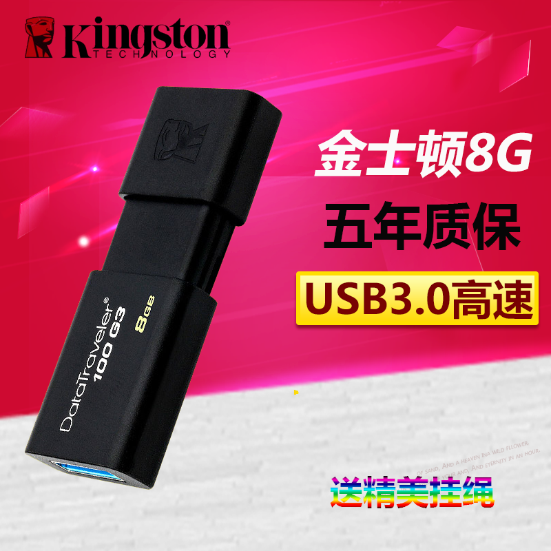kingston 8g u盘