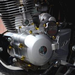 摩托车改装配件装饰品机头彩色螺丝盖螺丝帽发动机塑料螺丝套