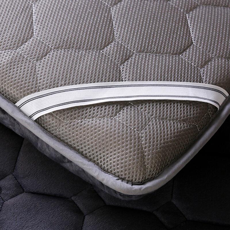 学生宿舍软垫褥子打地铺睡垫双人家用加厚90公分可7折叠单人床垫满193.65元可用1元优惠券