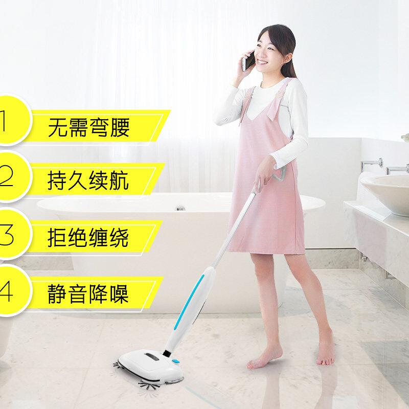 扫地机器人动拖把扫拖一体机6家用无线吸尘器非蒸汽手推式扫地机不包邮
