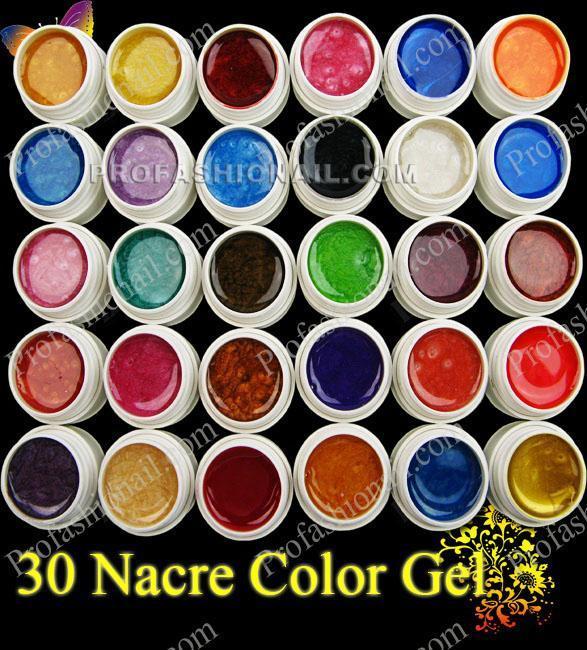 Новый 30 свет свет терапии жемчужина сплошной цвет лечит клей Лак для ногтей цветной гель ногтей оптом