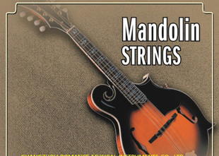 Timothy AM04 Mandolin strings of high quality imported stainless steel core strings mercerized