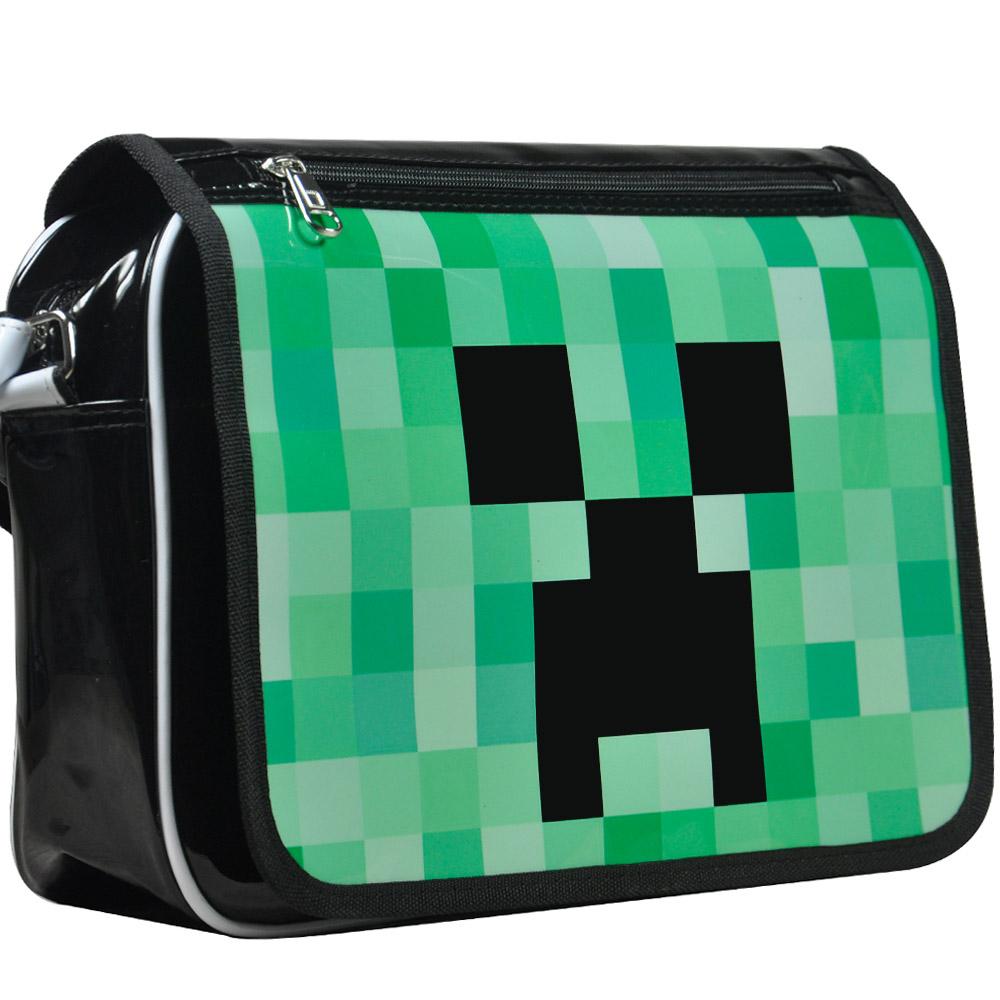 Мой мир вокруг мешок сумка Crossbody мешок MAK minecraft Кули