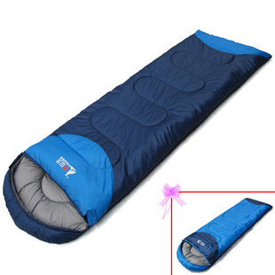 BSWolf Kitayama Langxin Love can be spliced envelope couple sleeping bags camping sleeping bag lunch break office