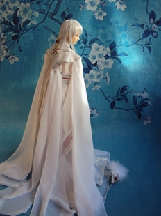 1 3 1 4 1 6 bjd costume Bailian month free hand Chi fan fourteen height 40 75CM