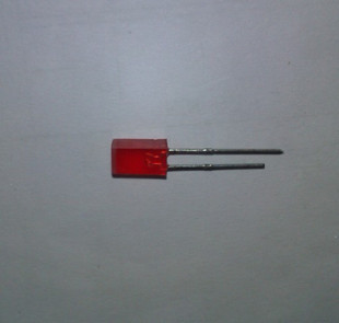 4X5X7mm red red mist emitting diode LED square LED backlight line