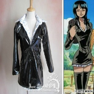 Robin One Piece anime cosplay cosplay dressing leather custom paint Pi Jiali sub Edition