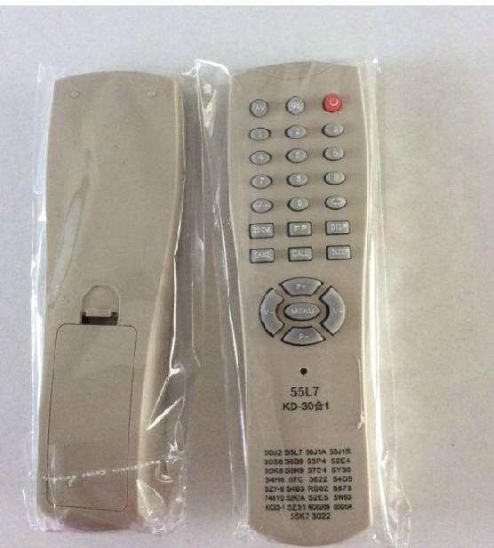 全新组装机电视机杂牌遥控器55L7 50J2 55K2 53P4 55K8 促销现货