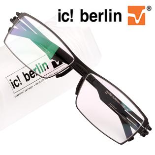 德国ic!berlin柏林超轻眼镜架无螺丝无焊点眼镜框男士大框眼镜架