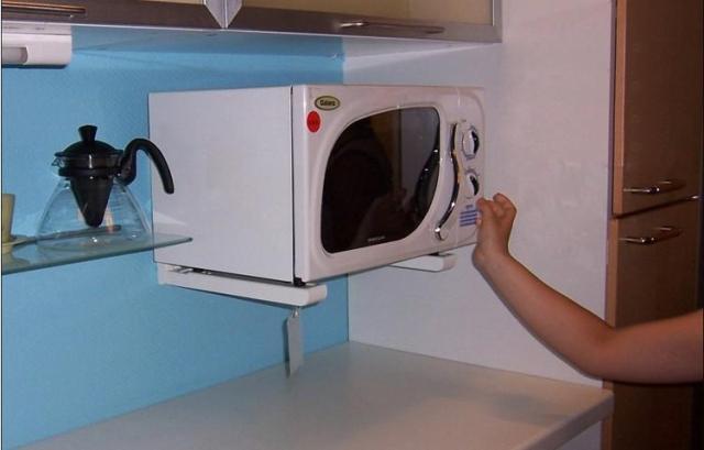 微波炉架 置物架 厨房支架 不锈钢 托架 层架 伸缩 加厚