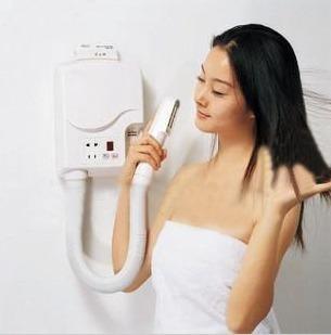 数码显示干肤器干发器壁挂式干肤器