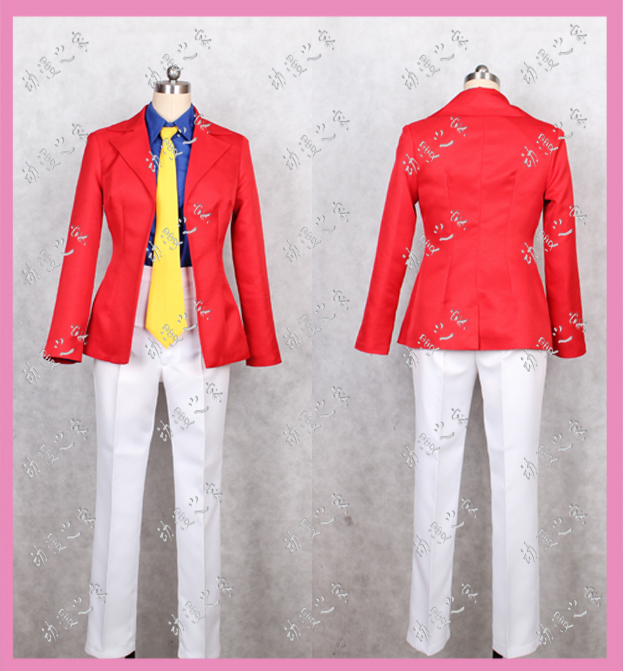 Cartoon house cosplay costume Lu Bang III mens uniform new product