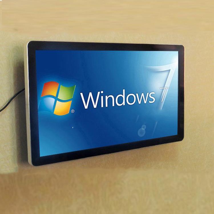 32寸挂壁式触摸屏电脑 多点触摸 2点/触摸屏一体机