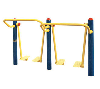 Buried double space walker/outdoor outdoor community fitness equipment path running weight loss health care yoga